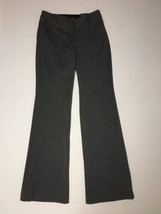 Express Editor Pants Flare 4 Reg Inseam 33 Womens Gray Studio Stretch NWT $69 - $53.22