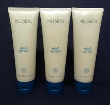 Three pack: Nu Skin Nuskin Hand Lotion Moisture Hydrate Soft 125ml 4.2oz x3 - $39.00