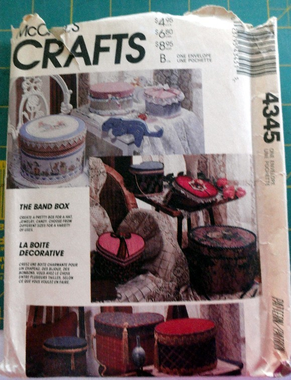McCall's 4345 Band Box Package-OOP  McCall's