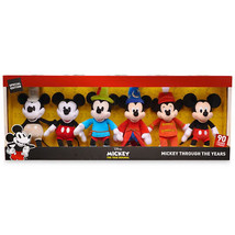 Disney Mickey The True Original Plush Set Mickey Through the Years Small... - $51.97