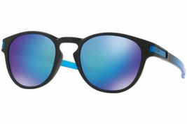 Oakley LATCH Sapphire Fade POLARIZED PRIZM Sapphire Blue Sunglass OO9265-18 - $98.99