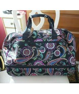 Vera Bradley Expandable Rolling Duffel Carry On Travel Suitcase in Kiev ... - $110.00