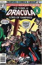 The Tomb of Dracula Comic Book #65, Marvel Comics 1978 NEAR MINT - $27.01