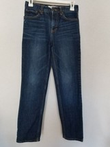 Cherokee Skinny Fit Blue Jeans 100% Cotton Adjustable Waist SZ 12 Boys - $5.89