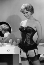 Liz Fraser in Carry on Cruising sexy in basque and black stockings 18x24 Poster - $23.99