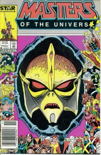 Masters of the Universe #4 : Snakes Alive (Marvel Comic Book 1986)