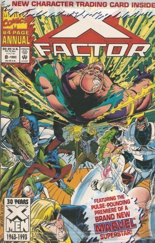 X-Factor Annual #8 with Trading Card Vol. 1 1993 [Comic] by Peter David amd S...