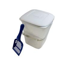 10L Rangement Nourriture Boîte & Bleu Sarcelle Cuillère sans Bpa Pot en - $20.81