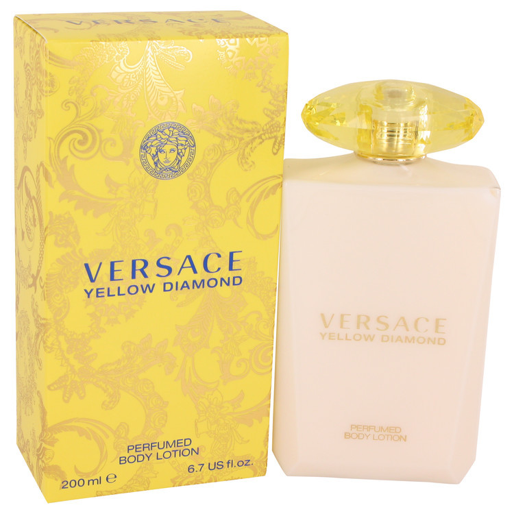 Aaversace yellow diamond body lotion