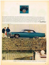 Vintage 1968 Magazine Ad Cadillac Bought For Luxury But Talks About Performance - $5.93