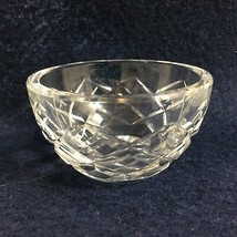 """Waterford Clear Crystal Lismore Open Sugar Bowl Signed 3"""" diameter x 1 3/4"""" high - $31.85"""