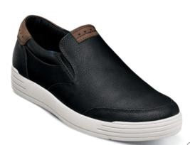 Nunn Bush Kore City Walk Moc Toe Slip On Shoes Black 84820-001 - €61,56 EUR