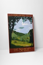 """Come Home To Shire by Steve Thomas Gallery Wrapped Canvas 20""""x30"""" - $53.41"""