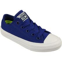 Converse All Star Chuck II Blue 350152C Preschool Shoes image 4