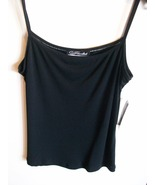 Ladies Camisole Top by Touche', Sz. L, Black, New w/Tags - $14.00