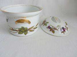 Royal Worcester Evesham Vale Covered Casserole + Rectangular Serving Dish Bowl image 7