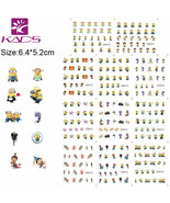 Nail Art Water Transfer Sticker Minions Decals Tips Decoration - $2.69