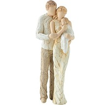 More Than Words Welcomed With Love Couple with Baby Figurine by Arora De... - $64.01