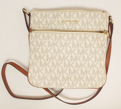 New MICHAEL KORS Vanilla Signature Cross Body Bag - $119.00