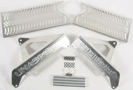 Radiator Guard (Natural) Unabiker Dirt Bike Armor HF450X2-A - $99.95
