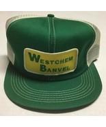 Vtg Westchem Banvel Trucker Hat K Brand Made In The USA Patch Cap Agricu... - $197.99