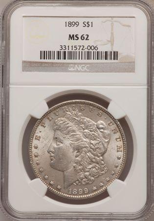 1899  1 ms62 obverse