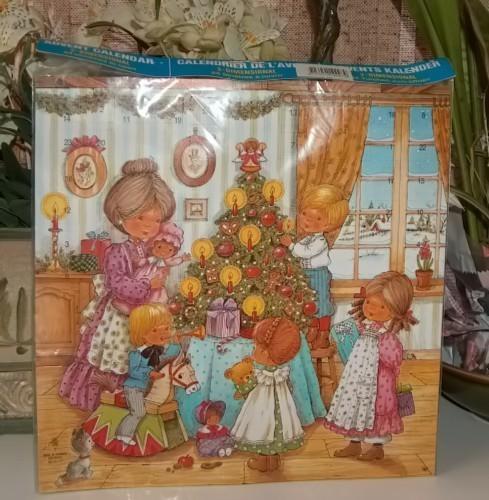 Gemo advent calendar denmark family