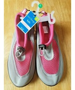Girls Water Shoes M (2-3). Brand New. West Loop. Pink/Gray. FREE SHIPPING. - $9.89