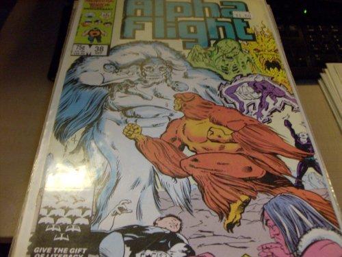 Alpha Flight (Comic) - Vol. 1 No. 38 [Paperback] by marvel