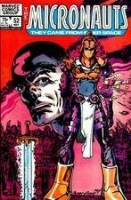 The Micronauts # 52 (The Micronauts They Came From Inner Space, Volume 1)