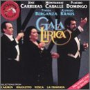 Caballe: Gala Lirica [Audio Cassette] Carreras-Domingo