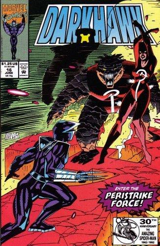 Darkhawk #16 Enter The Peristrike Force [Unknown Binding] by Stan Lee