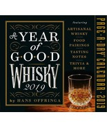 2019 a Year of Good Whisky Page-a-day Calendar by Hans Offringa  - $14.54
