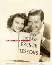 Ray Milland Olympe Bradna Say it in French Movie Photo - $9.99