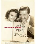 Ray Milland Olympe Bradna Say it in French Movi... - $9.99