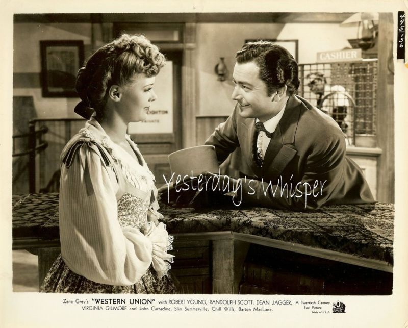 Virginia Gilmore Robert Young Original Vintage Photo