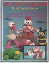 Crochet Puzzlements~Puzzle-Toys Crochet Patterns - $29.99