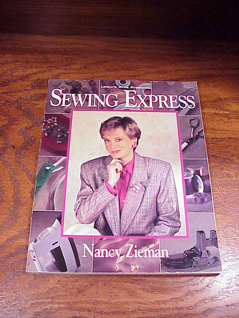 Lot of 2 Nancy Zieman Sewing SB Books, 501 Sewing Hints and Sewing Express