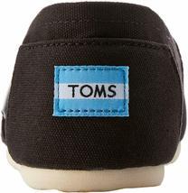 Neu Toms Damen Der Venezien Sammlung Klassisch Schwarz Leinen Schlupf Schuhe image 5
