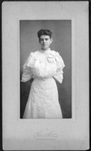 Lucy S. Carter Cabinet Photo - P.H.S. Class of 1904, Boston, Massachusetts - $17.50