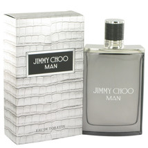 Jimmy Choo Man by Jimmy Choo Eau De Toilette Spray 3.3 oz for Men - $52.95