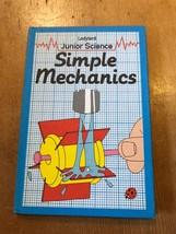"VINTAGE ""LADYBIRD SCIENCE: SIMPLE MECHANICS"" LADYBIRD BOOK (£1.30 NET) - $2.61"