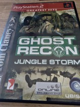 Sony PS2 Tom Clancy's Ghost Recon: Jungle Storm image 1