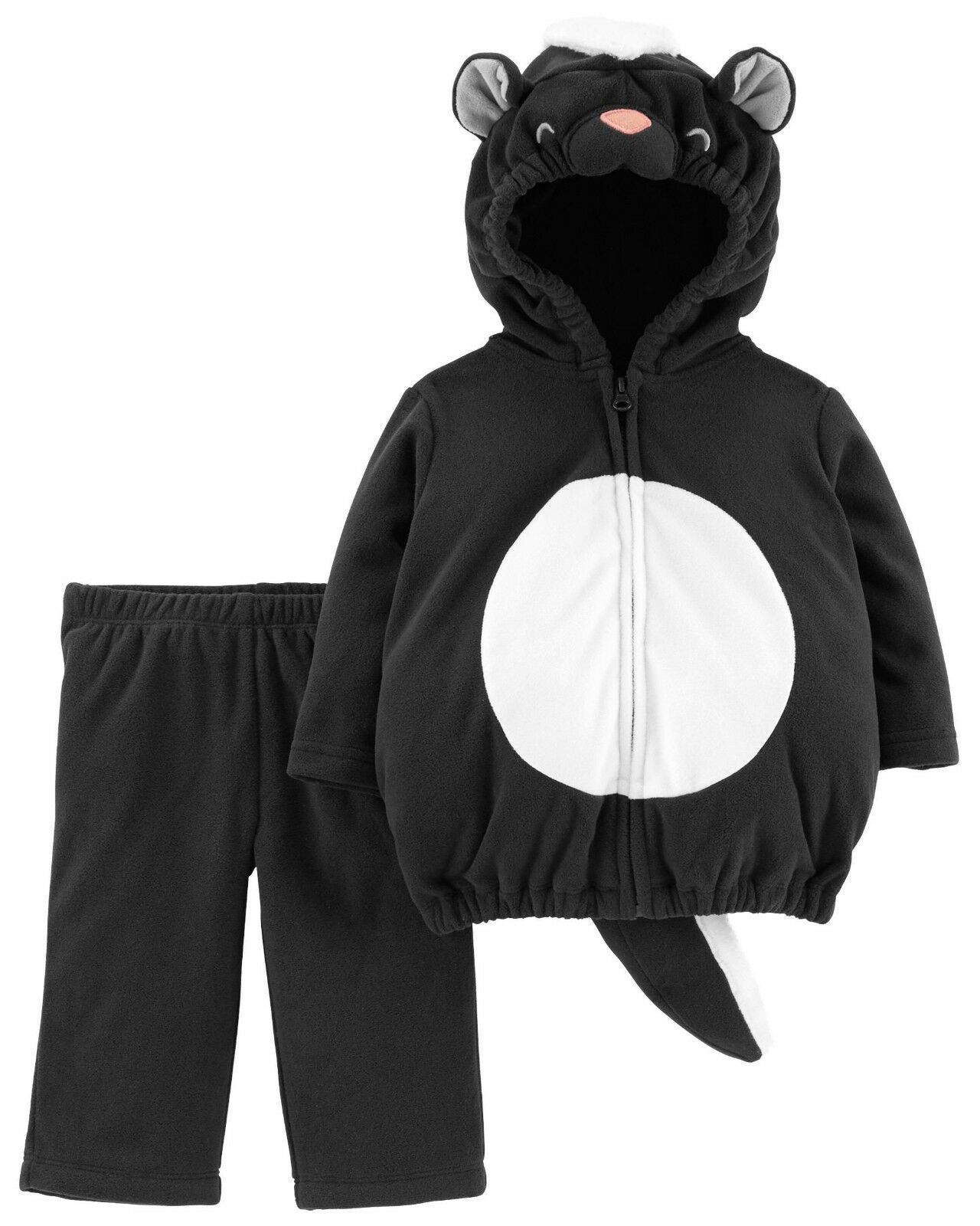 NEW NWT Carters Skunk Halloween Costume Boy or Girl 12 18 or 24 Month