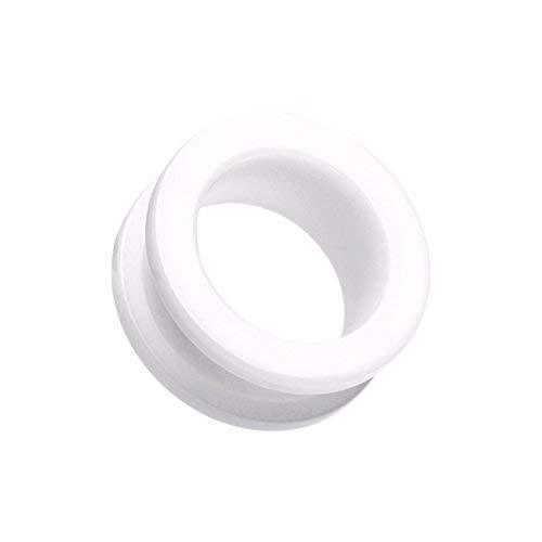 Primary image for Basic Acrylic Screw-Fit WildKlass Ear Gauge Tunnel Plug (Sold as Pairs)