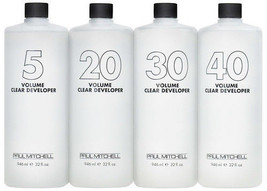 Paul Mitchell 5 10 20 30 40 Volume Clear Developer - The Color - $20.16
