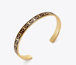 Tory Burch Gemini Link Delicate Printed Cuff with Free Gifts - £101.56 GBP