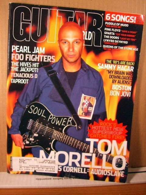Guitar World Magazine December 2002 Tom Morello