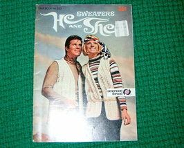 American Thread, He and She Sweaters Book No. 223 - $3.50