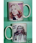 Madonna 2 Photo Designer Collectible Mug 01 - $14.95